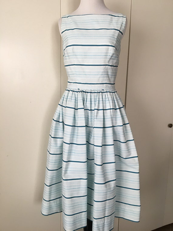 Vintage Handmade Stripped Sundress