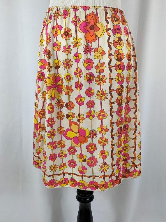 Vintage EmilIo Pucci Floral Half Slip