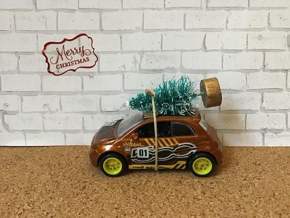 Stocking Stuffer Hornet Christmas  ornament Car Christmas Tree Ornament Hudson Hornet Car Carrying Christmas Tree
