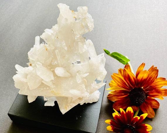 Quartz Crystal, Raw quartz, Paperweight, Wellness gift, Rare Quartz Crystal, Home decor, pristine quartz, Crystals, Quartz needles, Gemstone