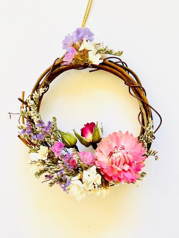 Boho farmhouse ornaments, wreath, Christmas ornaments, flower wreath ornaments, flower wreath, boho farmhouse ornaments, wreath for the tree