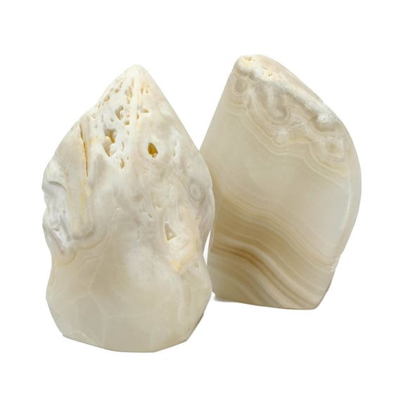 Onyx Flame Bookends (set of two)