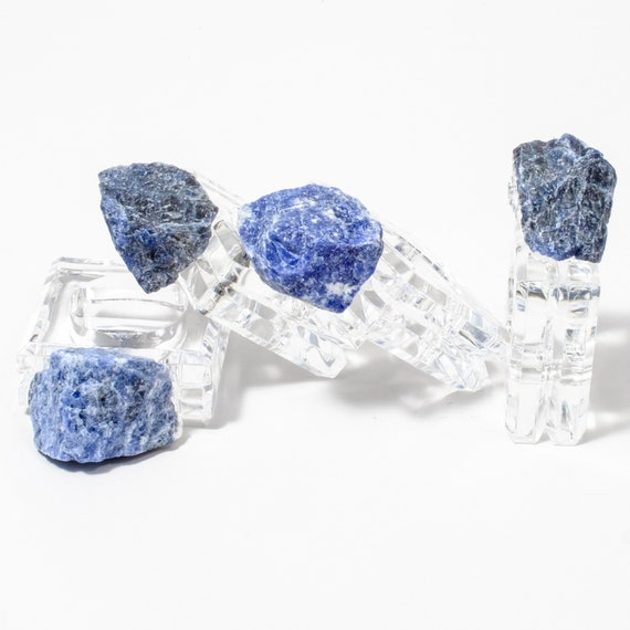 Sodalite napkin rings (set of 4), napkin rings, acrylic napkin rings, Holiday Table decor