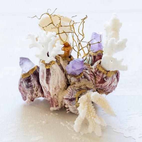 Sea Barnacle Gemstone Sea Garden Object Amethyst