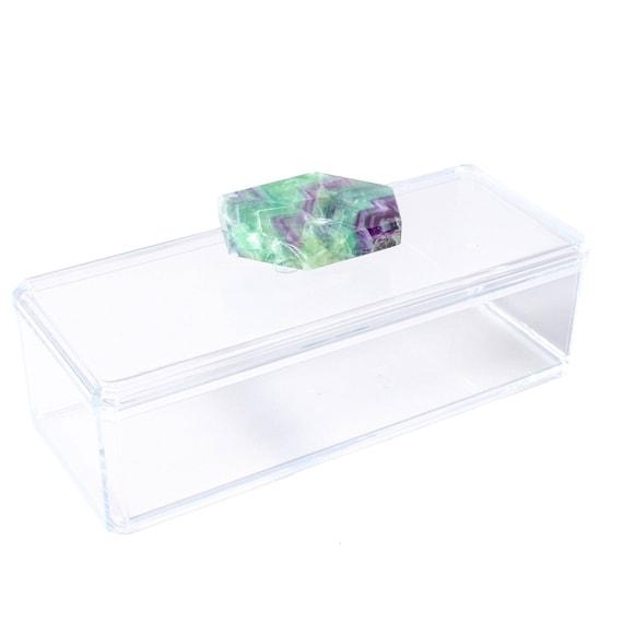 Remote Acrylic Box w/ Fluorite