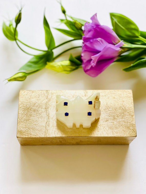 Small gold box, gemstone Box, Jewelry Box, Wedding Gift Box, butterfly decor, Onyx butterfly, Gold box, gift box