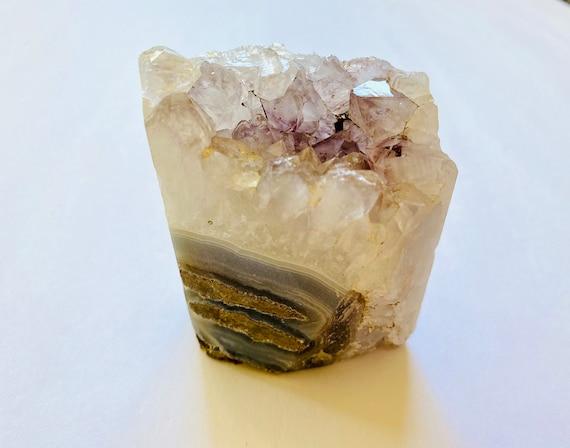 Amethyst paperweight, Amethyst, stand alone amethyst, Chakra, Healing crystal