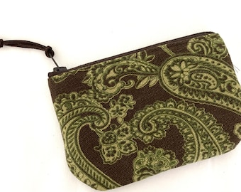 Small Zippered Coin Pouch - READY TO SHIP
