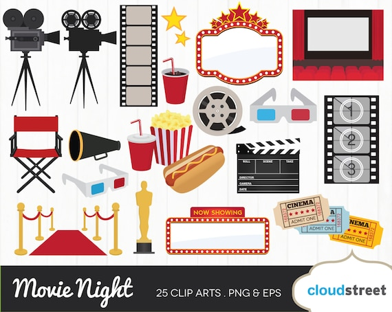 buy 2 get 1 free movie award clipart movie night clipart movie rh etsystudio com free movie star clip art free movie ticket clip art