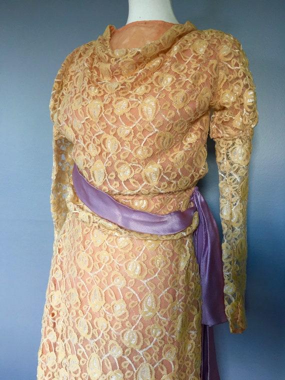 20s/30s Complete Dress Set SLIP LINGERIE SHOES