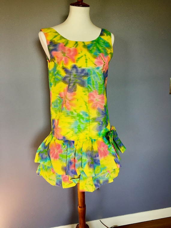 60s Mod Paper Dress with Original Packaging - image 3