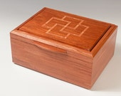 Jewelry Box of Bubinga, w...