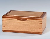 Handcrafted Oak Jewelry Box