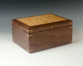 Walnut Jewelry Box with A...