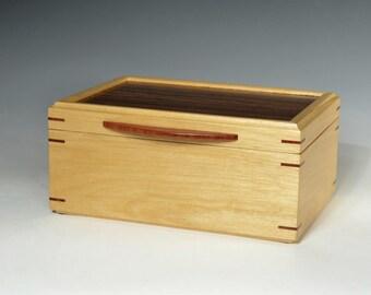 Jewelry Box of Avodire and Bocote