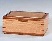 Handcrafted Oak Jewelry B...