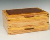 Canarywood Jewelry Box wi...