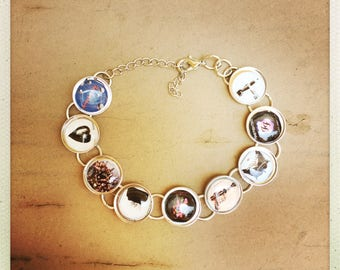 Foo Fighters album cover bracelet