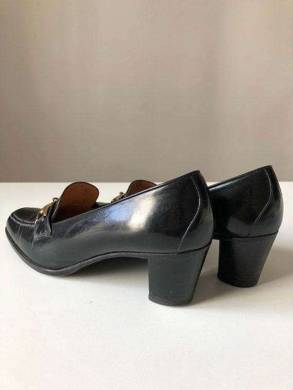 Celine Heels Oxford black shoes T 38 - image 5
