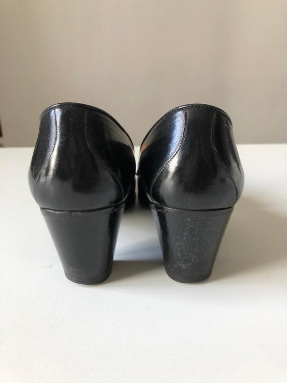 Celine Heels Oxford black shoes T 38 - image 8