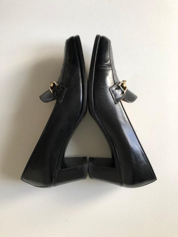 Celine Heels Oxford black shoes T 38 - image 7