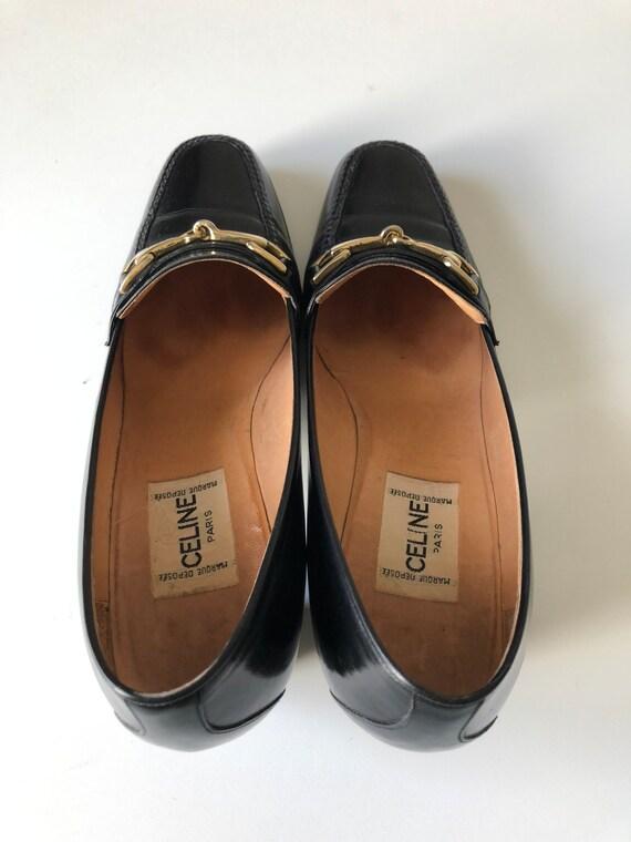 Celine Heels Oxford black shoes T 38 - image 10