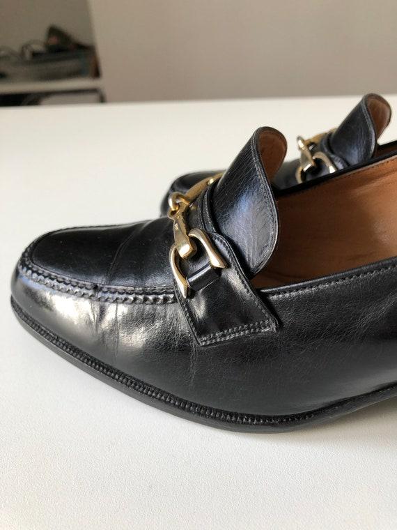 Celine Heels Oxford black shoes T 38 - image 9