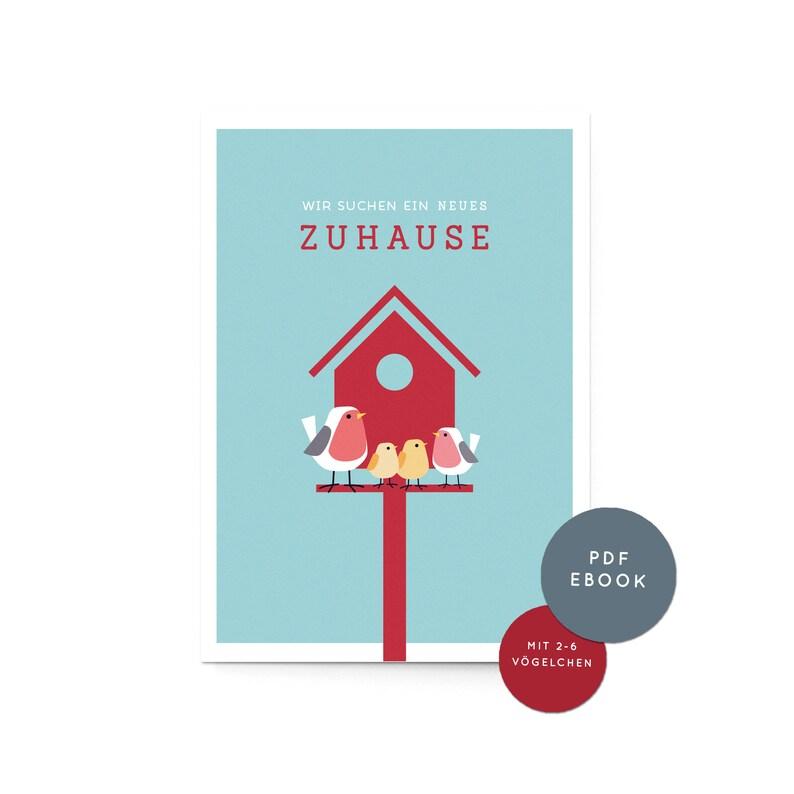 Ebook Haussuche Vogelhaus pdf zum Selberdrucken image 0