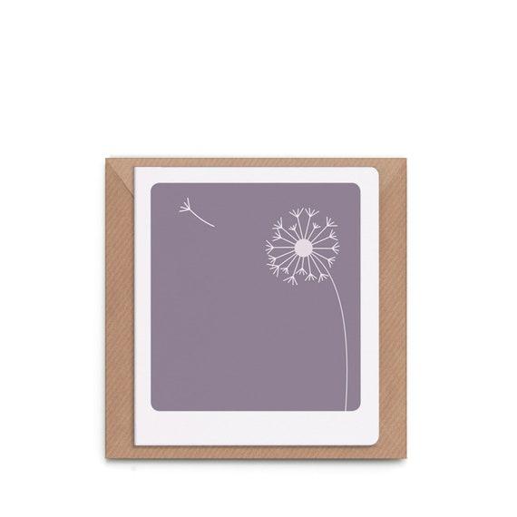 Schlichte Trauerkarte Trauer Karte Schlicht Modern Etsy