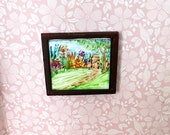 Garden Path Miniature Dolls House  1:24 or 1 12th scale Painting Dollhouse