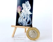 Miniature Fairy Godmother painting Original Art by hazel Rayfield