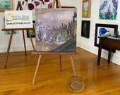 London Eye Miniature  impressionist style dollhouse painting original