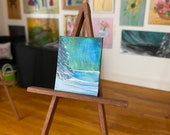 Northern Lights Painting  | Dollhouse Art | Dolls House Painting landscape