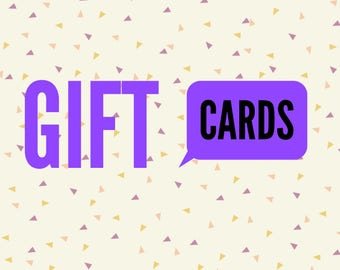 Project Warmth Gift Cards