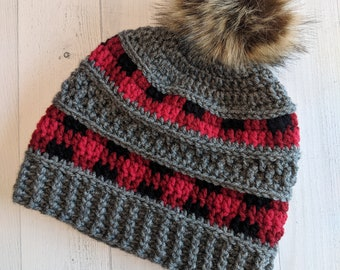 23a83416dcf Peekaboo Plaid Hat