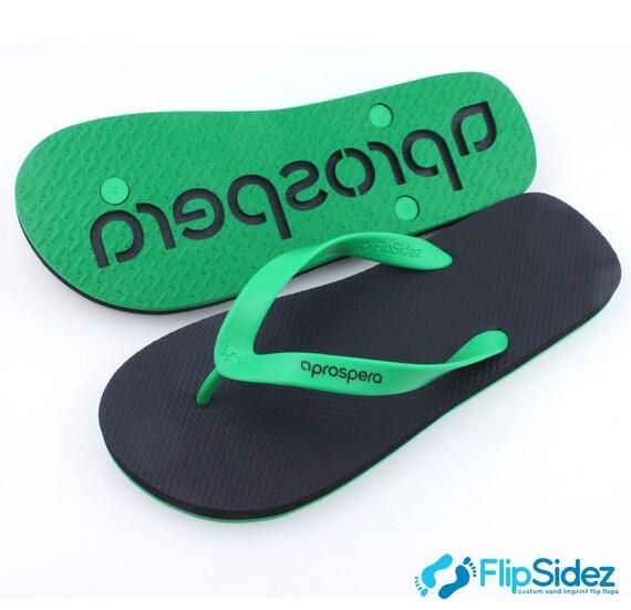 da9150b9ec24 Custom Branded Flip Flops 25 pair bulk listing