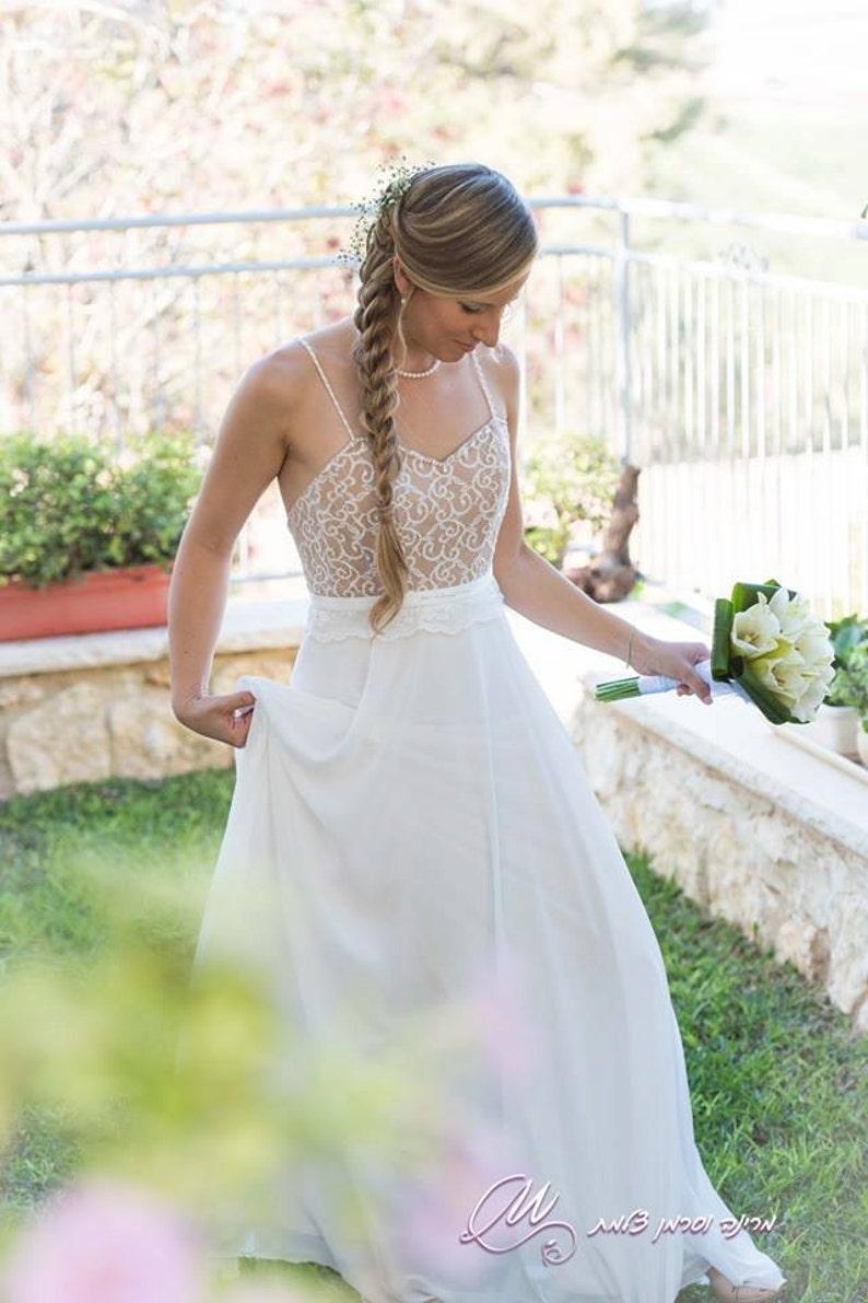 e2cc4ea1128 Robe de mariée dentelle romantique mariage robe robe de