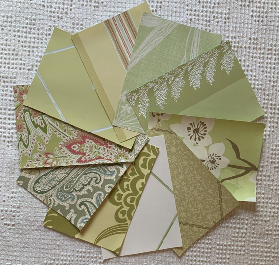 Mixed Blues Set No 2 Perfect for Journal Covers 10 Sheets Wallpaper Sample Pack