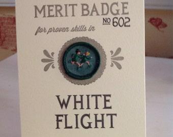 White Flight Merit Badge