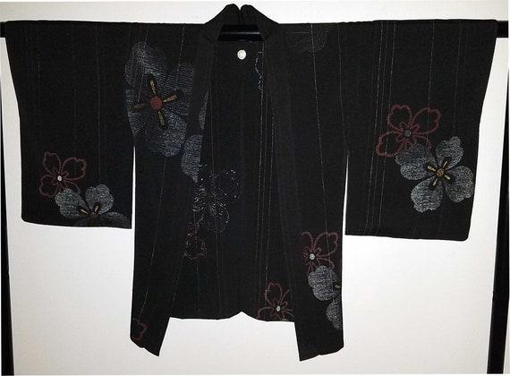 Kimono - Silk Kimono Jacket- Haori- Kimono Jacket