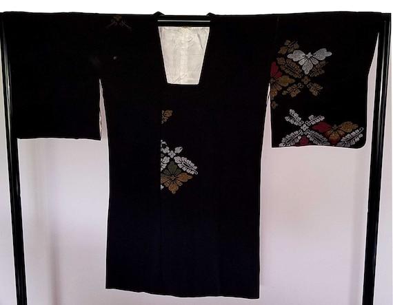 Kimono Coat - Silk Kimono Jacket- Kimono Coat- I46