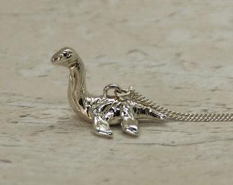 Sterling Silver Plesiosaur Charm