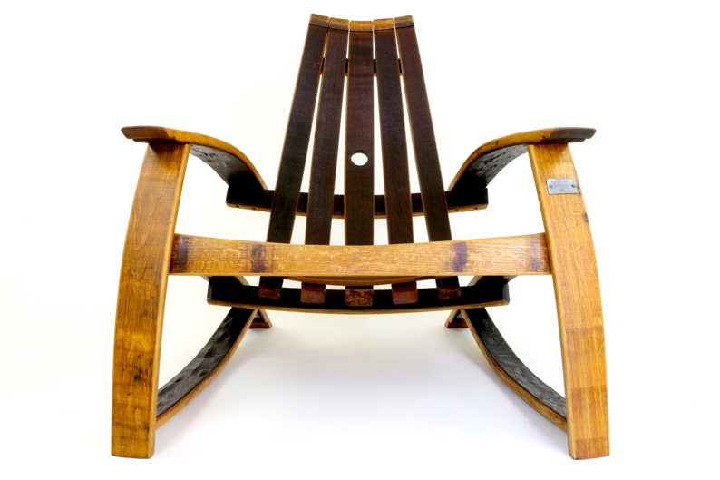 Wine Barrel Lounge Chair Patio Furniture Barrel Furniture Etsy