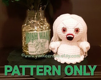 Baby Banshee Irish Mythology - St. Patrick's Day - Amigurumi Doll - CROCHET PATTERN ONLY
