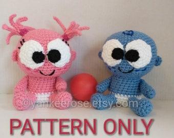 Baby's First Doll Goo Goo Gaa Gaa - CROCHET PATTERNS ONLY