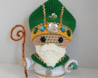 Saint Patrick - St. Patrick's Day - Amigurumi Doll - CROCHET PATTERN ONLY