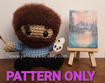 Happy Little Artist Fan Art CROCHET PATTERN ONLY