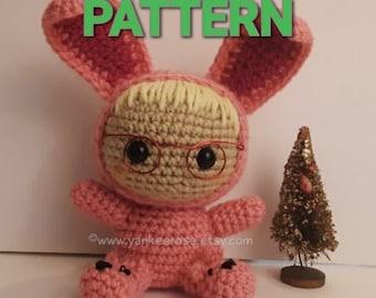 Deranged Easter Bunny Fan Art CROCHET PATTERN ONLY