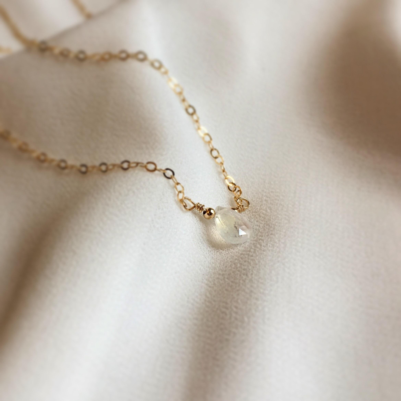bcddb97438b90 Birthstone Necklace, Birthstone Choker Necklace, Birthstone Jewelry,  Delicate Jewelry, Natural Gemstone Necklace, Birthday Jewelry