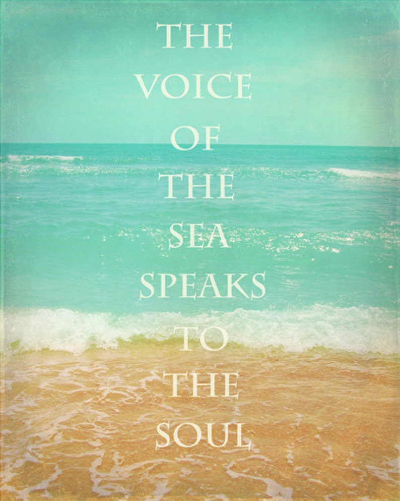 Beach Photograph The Voice Of The Sea Speaks To The Soul image 0
